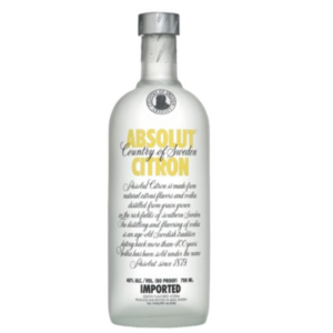 Absoluut Vodka Citron 70cl